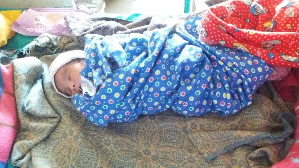 AS Nepal KCH Q2 2018 Sushila Pariyar's baby 3 days after admission