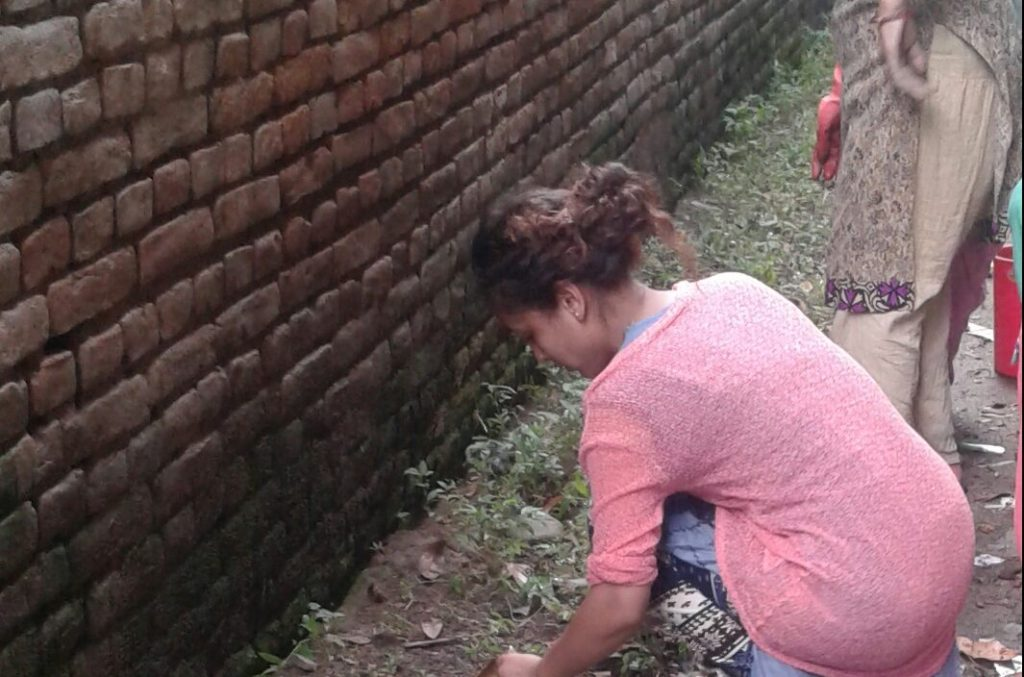 AS Nepal NCO Q2 2017 Cleaning NCO Environment on World Environment Day(2)