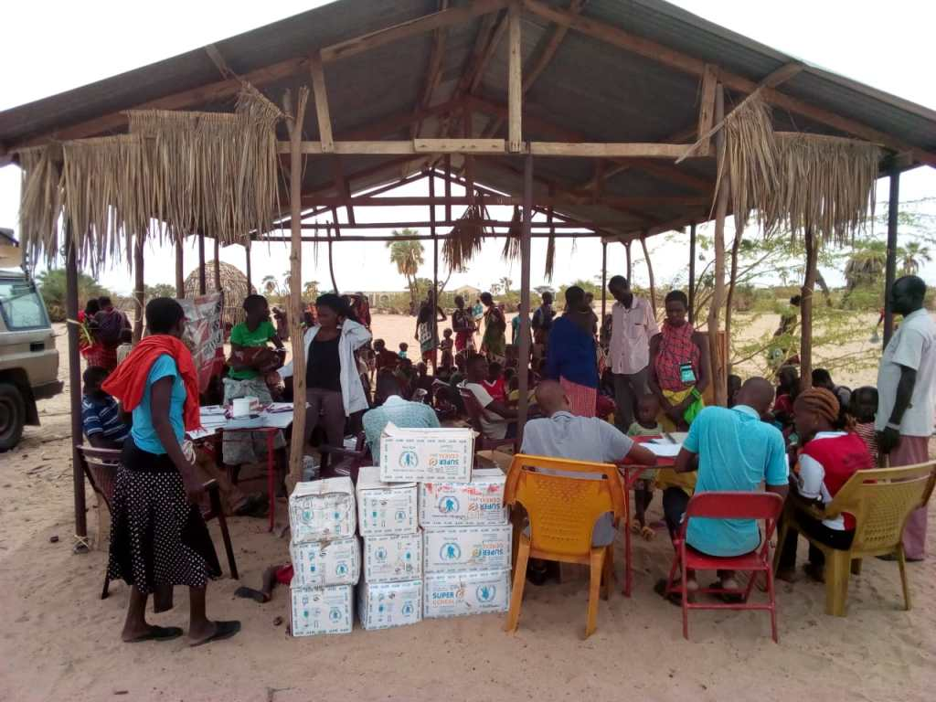 AF Kenya LCTDR Q4 2018 distribution of therapeutic and supplementary feeds to the severe and moderately malnourished children, pregnant and lactating mothers and people living with HIV(PLWHIV)