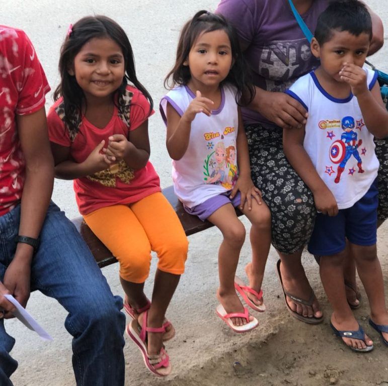 Children waiting for consultation