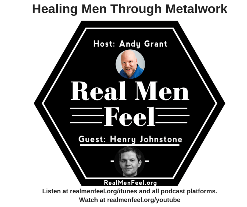 Ep 147 - Healing Men Through Metalwork