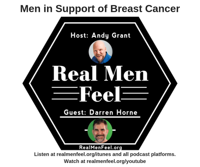 Men In Support of Breast Cancer
