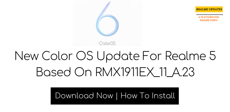 Realme 5 December Security Patch Update Rolling Out | RMX1911EX_11_A.23 | Realme Updates
