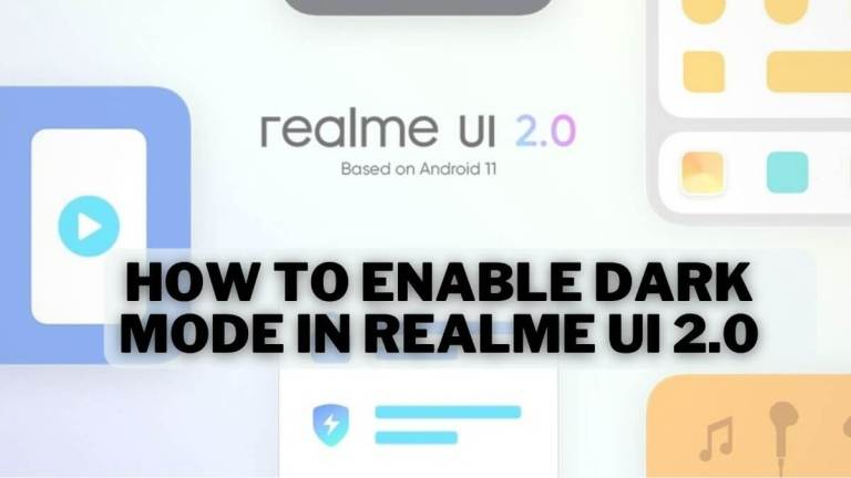 How to Enable Dark Mode In Realme UI 2.0 - Realme Updates