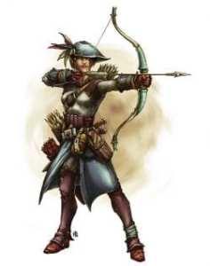 Half-elf Marksman