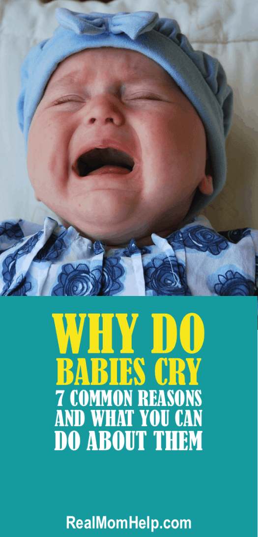 why do babies cry