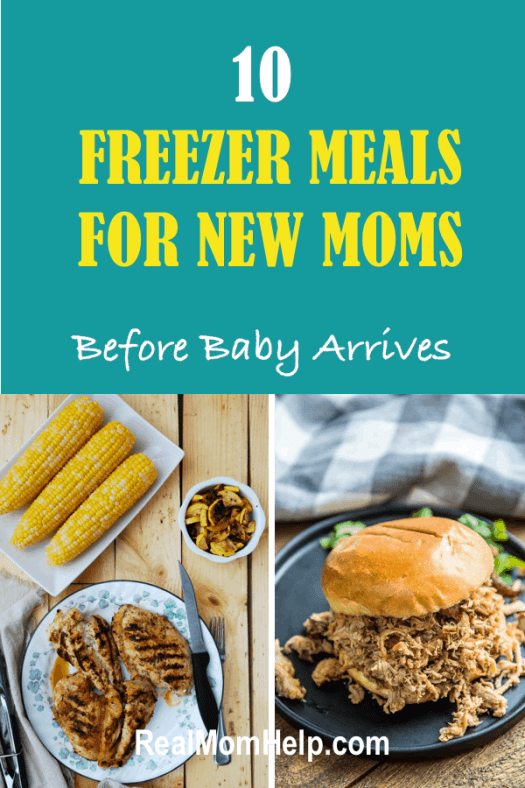 freezer meals for new moms