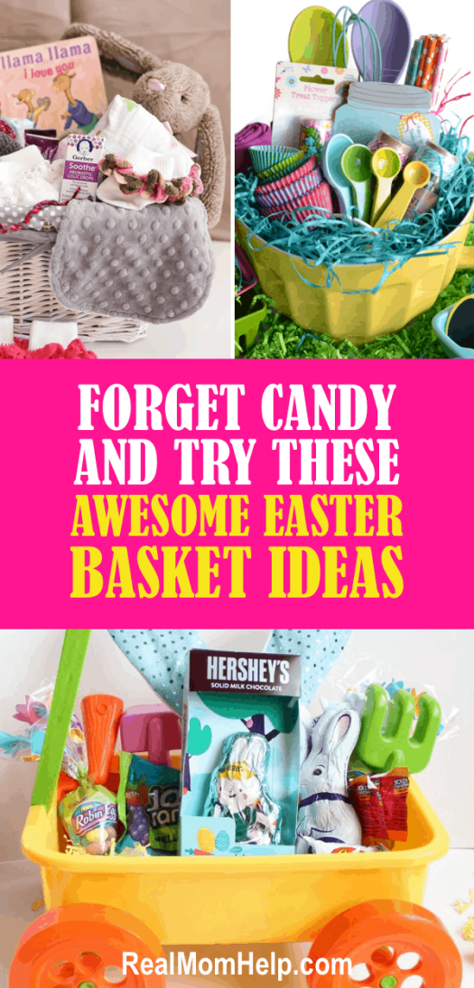 Forget the candy and try these awesome easter basket ideas instead easter basket ideas negle Images