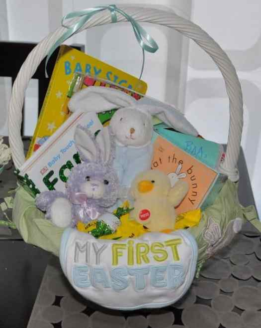 Forget the candy and try these awesome easter basket ideas instead easter baskets ideas negle Choice Image