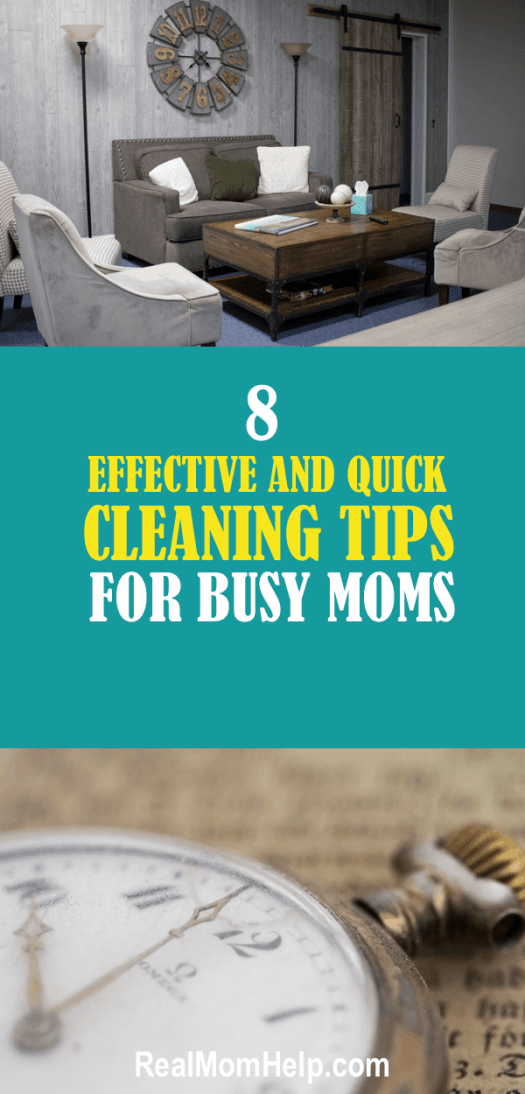 quick cleaning, cleaning tips, organization