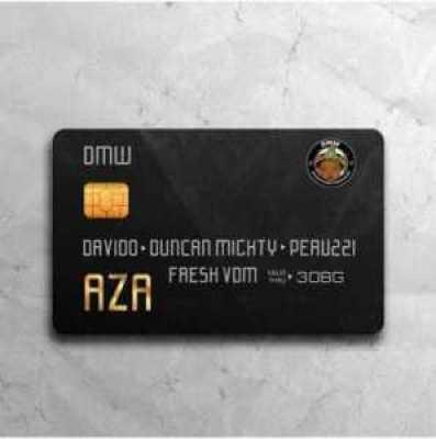 ", Download music ""AZA"" by DAVIDO ft DUNCAN MIGHTY & PERUZZI – Real money studio, REAL MONEY STUDIO"