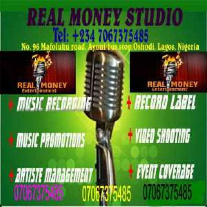 , best website in Nigeria for latest Naija music downloading and uploading, REAL MONEY STUDIO