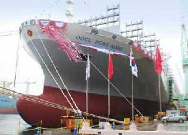 , 2 biggest and largest ships container in the world, REAL MONEY STUDIO
