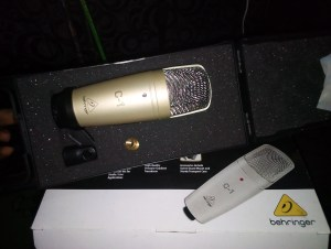 IMG_20190610_164132-300x226 N18,000 Behringer C1 Condenser Studio Mic With Mic Box for sale in Oshodi Lagos