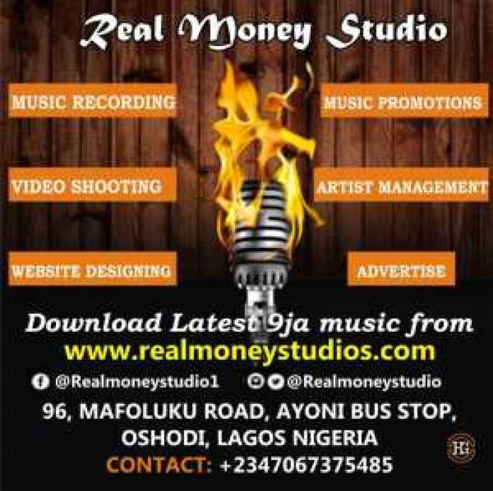 Studio recording in Lagos 07067375485