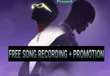 free song recording promotion