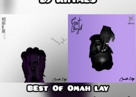 DJ Rhymes Omah Lay Mix art