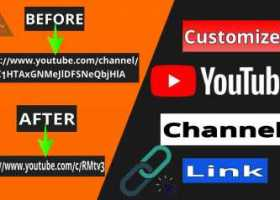 How to customize YouTube channel URL    How to customize channel link