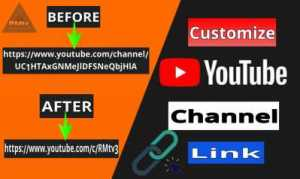 How to customize YouTube channel URL || How to customize channel link