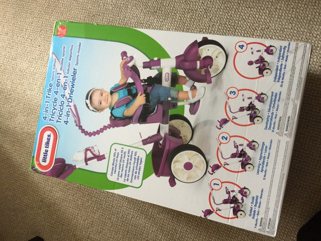 Review Little Tikes 4 In 1 Sports Edition Trike Real