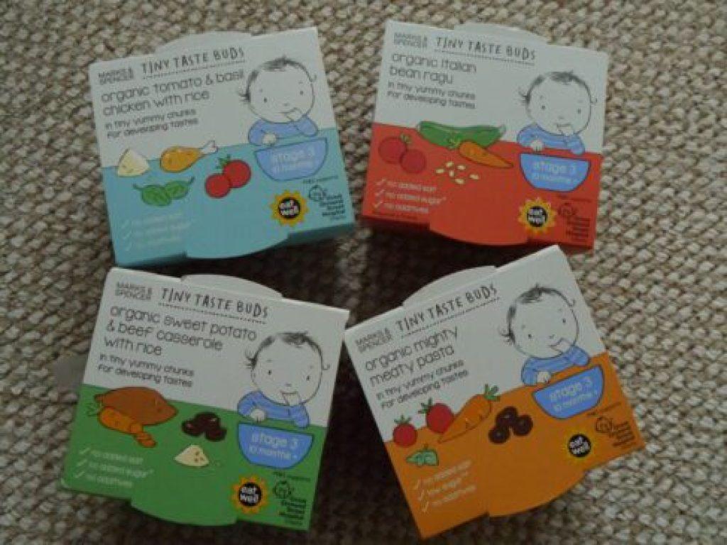 M&S Tiny Taste Buds Baby Food Range