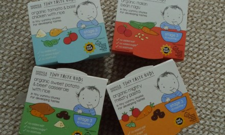 REVIEW – Tiny Taste Buds – M&S Baby Food