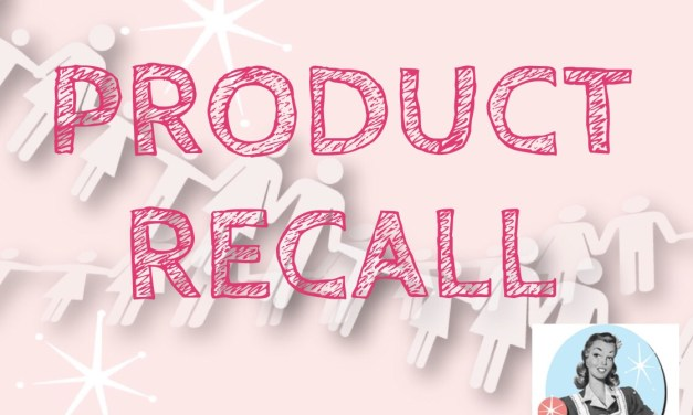 RECALL – Mars / Galaxy Products