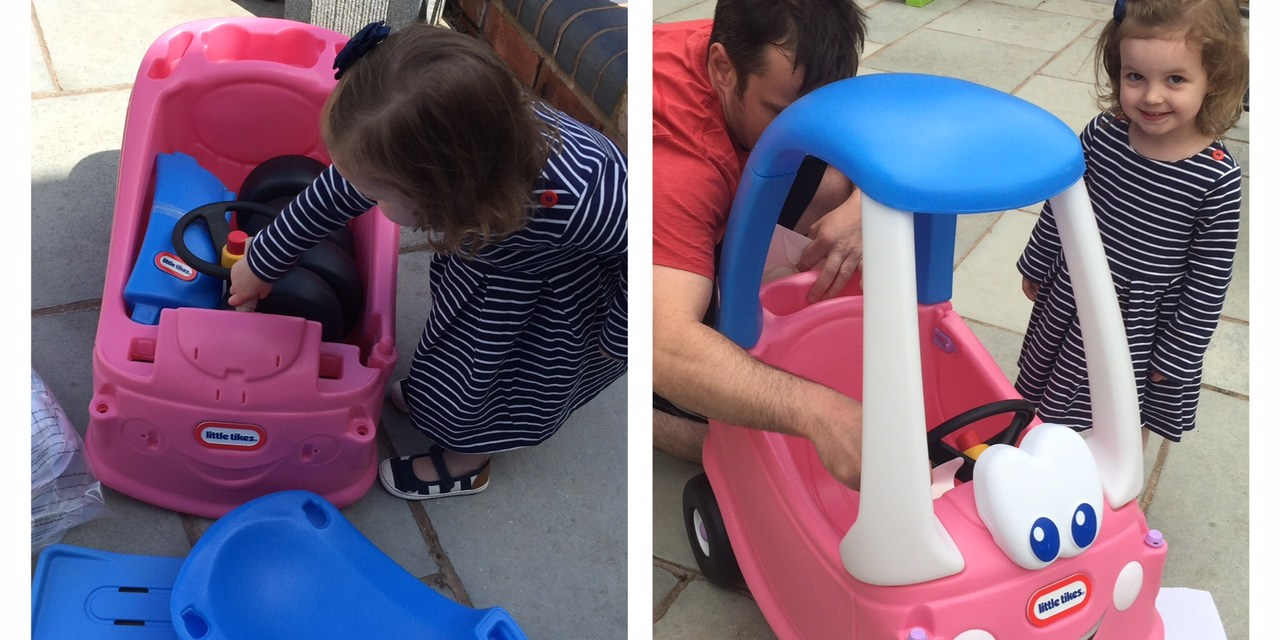 REVIEW – Little Tikes Cozy Coupe Princess Edition