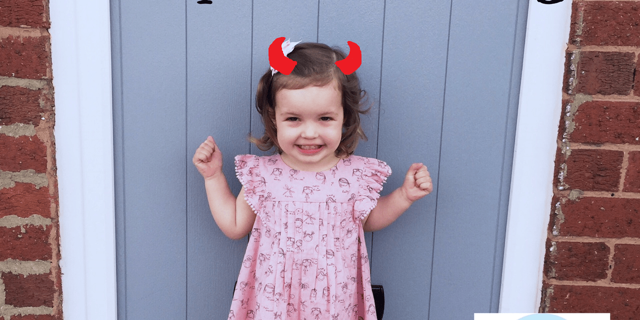 The day my toddler made me cry….