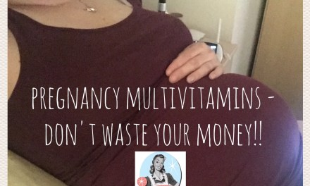 Pregnancy Multivitamins? Don't Waste Your Money!!