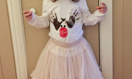CRAFT – Christmas Reindeer Handprint T-Shirt