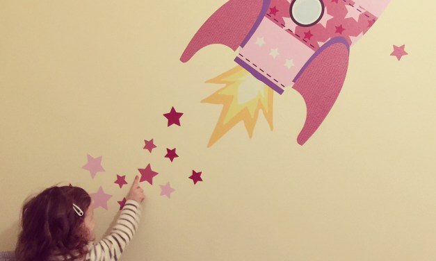 REVIEW – Stickerscape – Rocket Wall Sticker