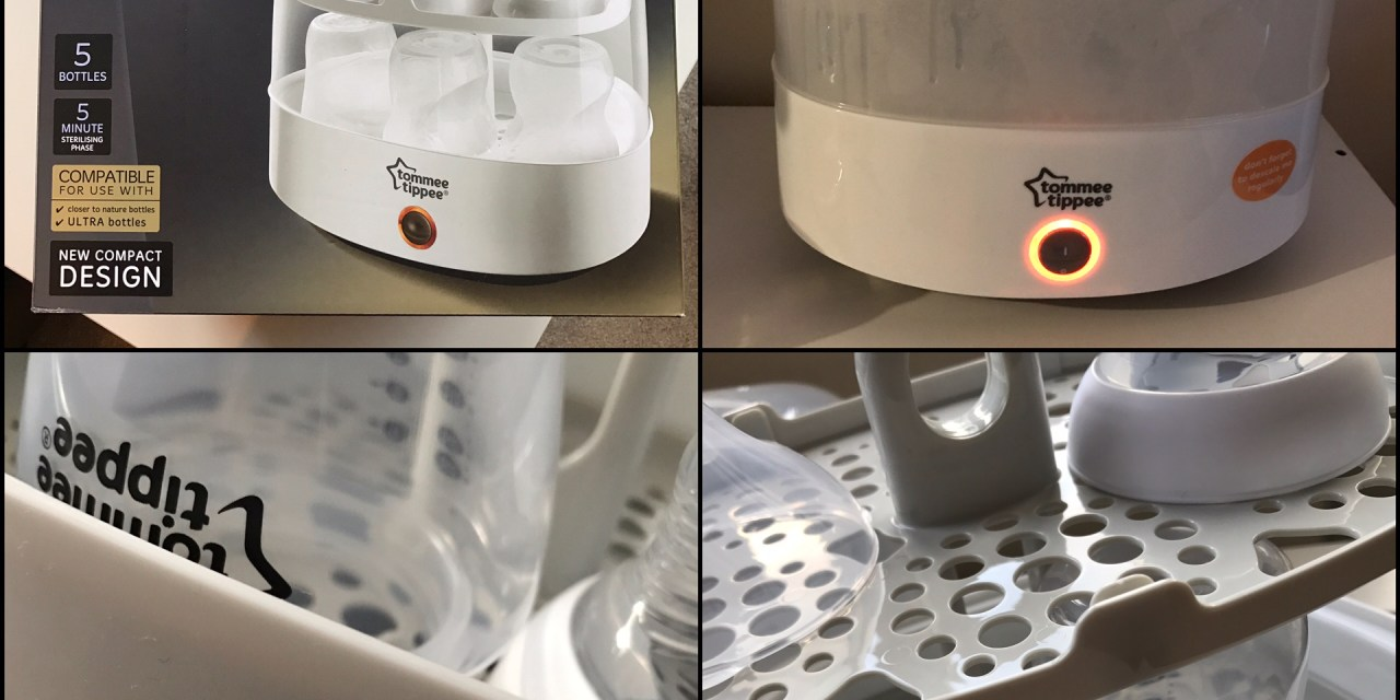 REVIEW – Tommee Tippee Closer to Nature Electric Steam Steriliser