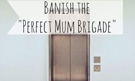 "Banish the ""Perfect Mum Brigade""."