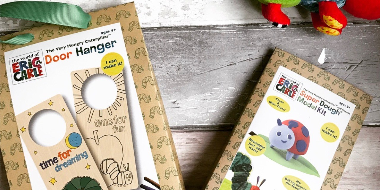 REVIEW & GIVEAWAY – The Hungry Caterpillar Craft Kits