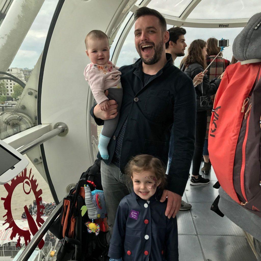 Family on the London eye