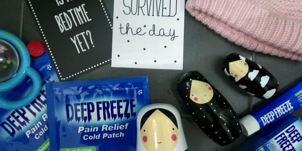 Soothing Postnatal Back Pain with Deep Freeze