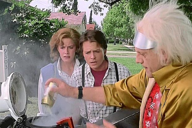 BTTF almost got this right especially considering how much ethanol is in our cars now.