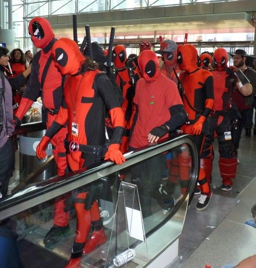 I mean, just looks at all these Deadpools