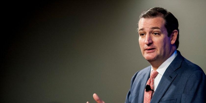 Republican Senator Ted Cruz Speaks At The Heritage Foundation