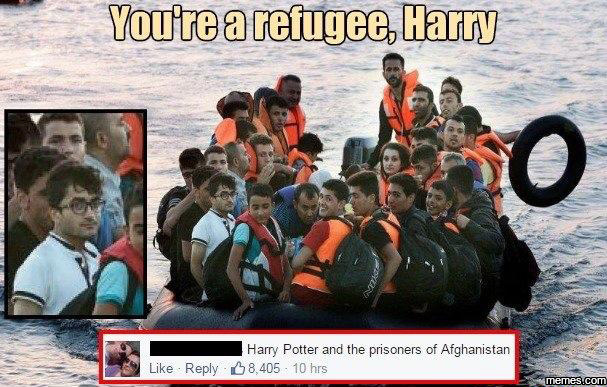 youre a refugee