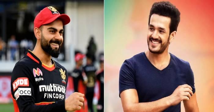 Akhil Akkineni to play Virat Kohli on screen ?
