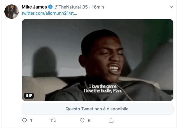 Mike James: I love the game, I love the hustle
