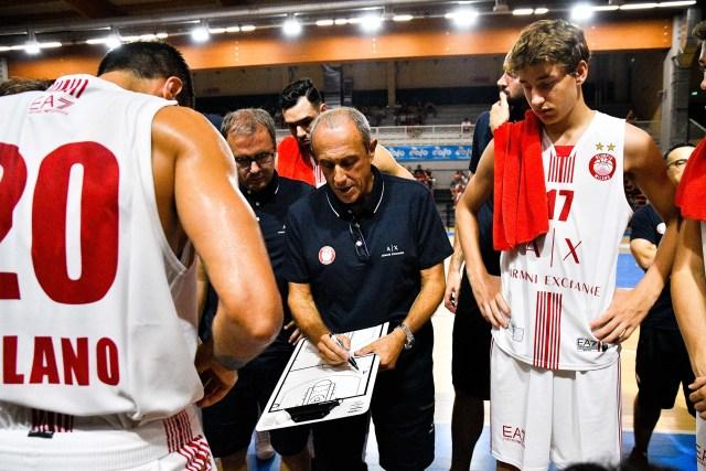 Ettore Messina: La buona notizia di oggi è Riccardo Moraschini