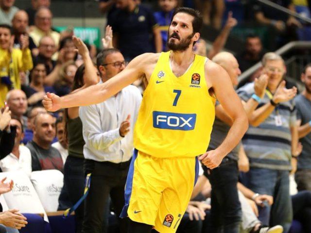 Olimpia Milano vs Maccabi | Omri Casspi resta a Tel Aviv