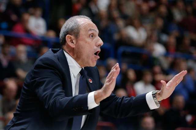 Brescia vs Olimpia Milano | Messina: Crediamo Sykes sarà in campo