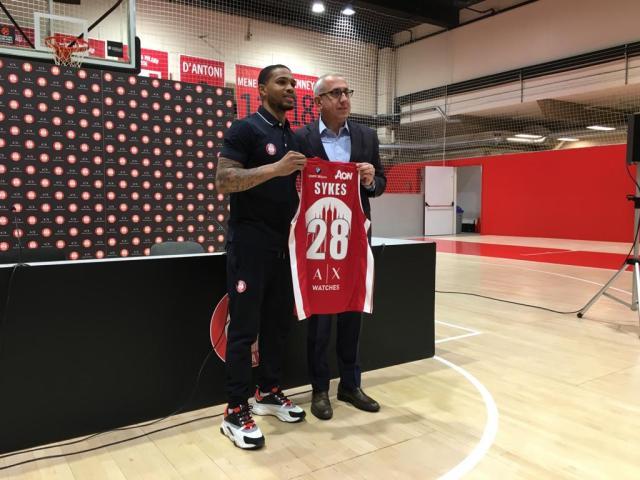 Sykes: A Milano per portare leadership, la pressione mi stimola