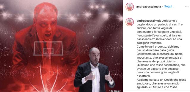 Paolo Moretti: Davide è contento dell'esperienza a Milano