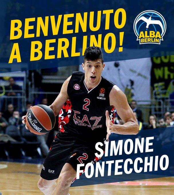 UFFICIALE – Simone Fontecchio firma un triennale all'Alba Berlino