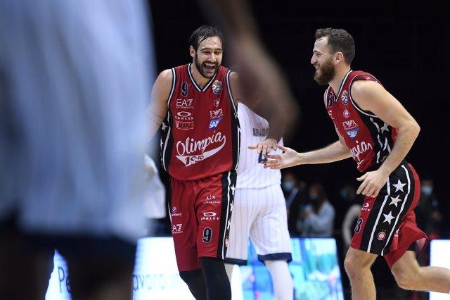 Fortitudo-Olimpia Milano, gli Highlights del match e Gigi Datome mvp
